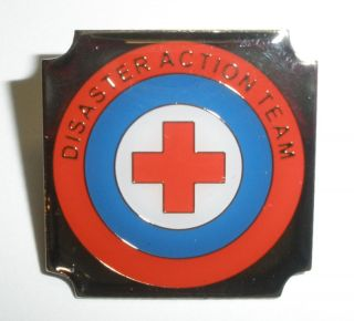 American Red Cross DAT Disaster Action Team Pin New