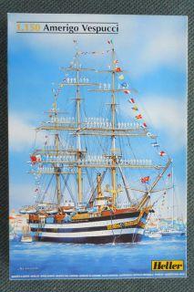 Amerigo Vespucci Ship Model by Heller Scale 1 150