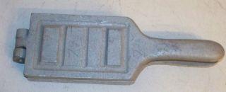 Ament Lead Fishing Bank Weight Sinker Mold 1 1 2 2 3 4 Oz