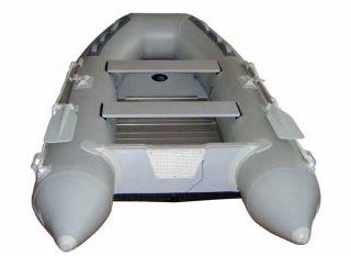14 Feet Inflatable Fishing Boat Raft Pontoon Dinghy Al
