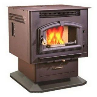 American Harvest 6039 Multi Fuel Corn Pellet Stove Heater 52300 BTU