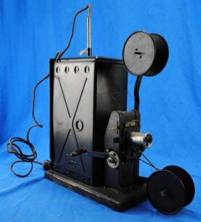Early Antique Bing Film Movie Projector Hand Cranked 1910s Vintage