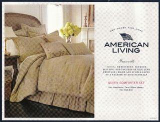 American Living Made by Ralph Lauren Granville Designer Comforter Set
