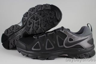 Nike Air Alvord 10 Wide 4E Black Metallic Dark Gray Trail Running