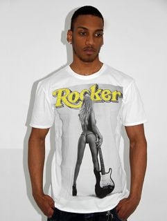 Amplified PINUPS Ed Kylie Rocker Diamante T Shirt