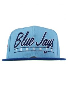 American Needle Sports Scripter Snapback Hat   Toronto Blue Jays