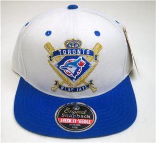 MLB American Needle Toronto Blue Jays Spirit Crest Snapback Cap