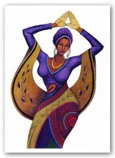 African American Art Autumn Magic by Albert Fennell