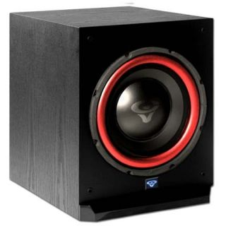 Cerwin Ported Home Subwoofer 10 Powered Amplifier