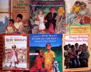 21 Picture Book Lot Black History Teacher African American Jerry