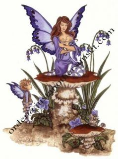 Amy Brown Fairy Print Little Blessings Mother Baby Fae