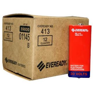 12 Pack of Eveready 413 Carbon Zinc 30V Battery NEDA 210, 20F20
