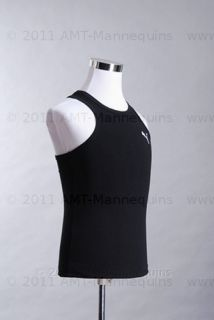 AMT Mannequin Torso Dress Form Male White Fabrice