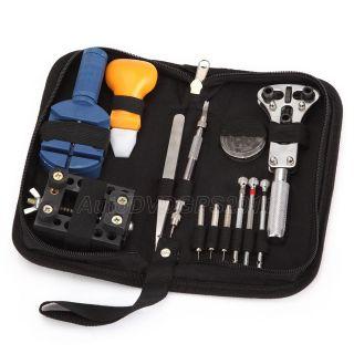 Watch Repair Tool Kit Case Opener Link Remover Spring Bar Tool w