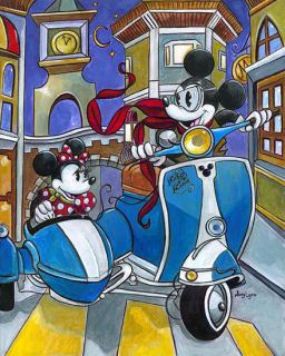 Mouse Disney Artist Expressions Amy Lynn Jigsaw Puzzle New 2012