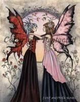 Amy Brown Print Limited Edition Signed Sisters II Fairy Le 75 RARE