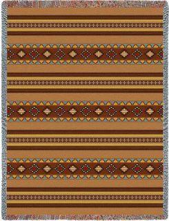 Native American Indian Design Bed Blanket Afghan Throw