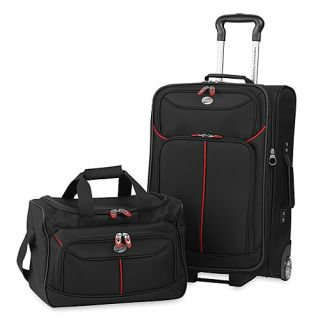 American Tourister Black Nylon 2 Piece Luggage Set from the Bonneville