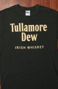 Tullamore Dew Irish Whiskey Logo Print Alcohol Liquor Drink Mens