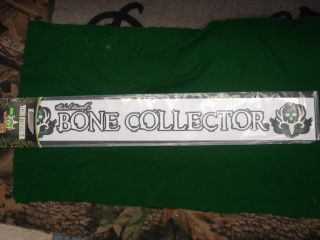 Bone Collector Windshield Decal 32x4 Brand New