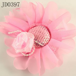 High Quality Angels Flower Chic Pearl Hat Free SHIP Hairpin Hair Clip