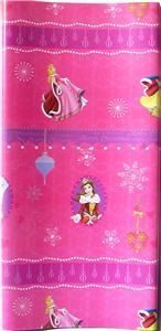 Princess Gift Wrap Paper Party 16 Sheets Wrapping Paper