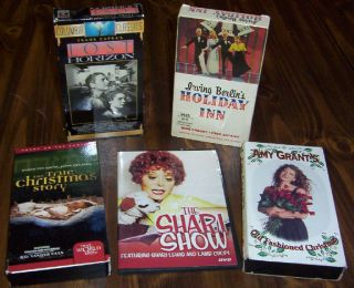 dvds Shari Lewis Lost Horizon Holiday Inn Amy Grant Christmas Vintage