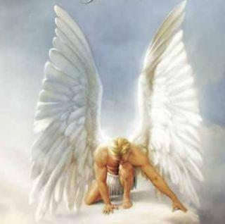 Angel in Love Watcher Earrings Angels White Light Guardian
