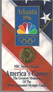 VHS Dot Richardson Donovan Bailey Michael Johnson Amy Van Dyken
