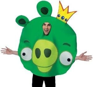 angry birds king pig adult costume unisex halloween funny party prop