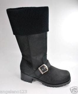 Harley Davidson Boots Anabel Fashion Dress Style Black Leather Women