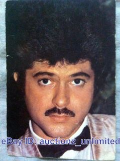 Bollywood Actor Anil Kapoor India Star RARE Old Post Card Postcard Mem