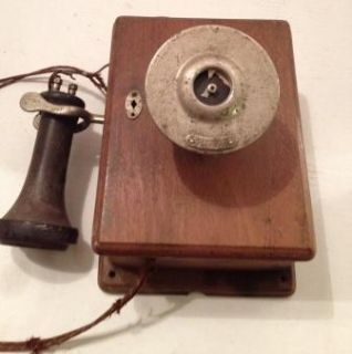 Vintage Antique Western Electric Wall Phone Model 293