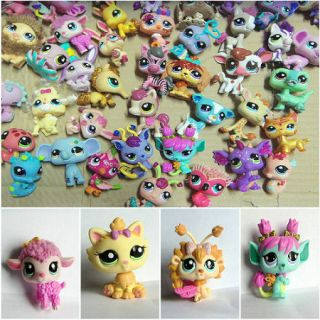 Hasbro Littlest Pet Shop LPS Animal Loose Figures Child Toy Collection