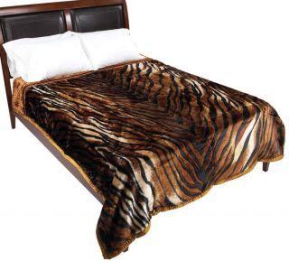 Animal Wyndham House™ Tiger Print Heavy Luxury Queen King Blanket