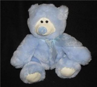 Animal Alley Light Blue Bear Toys R US Plush Soft Tru