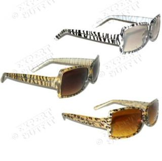 Lot Retro Leopard Tiger Zebra Animal Print Sunglasses New Wholesale