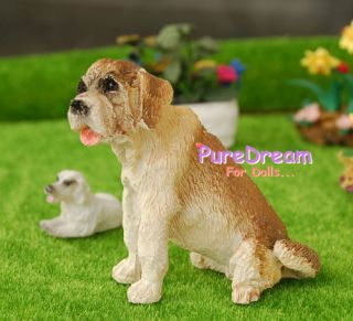 Pet Animal Puppy Dog Cute 1 12 Dollhouse Miniature PS003