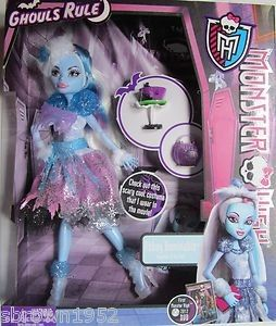 High Abbey Bominable Doll Ghouls Rule RARE  Exclusive HTF