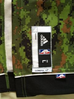 Andrea Bargnani Adidas R30 Toronto Raptors Camouflage Swingman Jersey