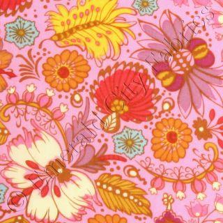 Anna Maria Horner Little Folks Voile 54 Coloring Garden Berry Cotton