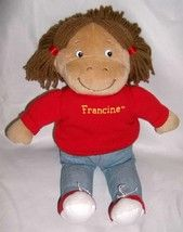 1996 PBS TV Arthur 14 inch Stuffed Plush Francine Doll Eden ♥