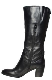Anne Klein Womens Boots Brenton Black Leather Sz 10 M