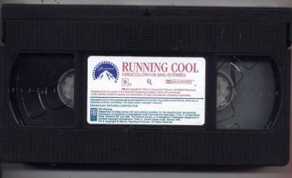 Running Cool VHS Andrew Divoff RARE Bikers Movie