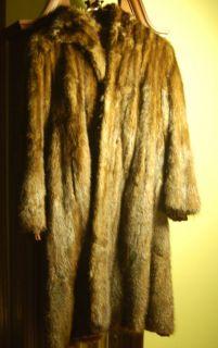 Vintage 1930s Mink Coat Full Length Annis Furs