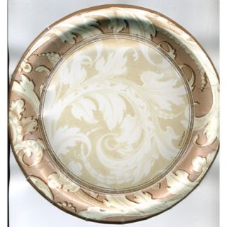 10 Gold Imperial 9 Plates Wedding Anniversary Party