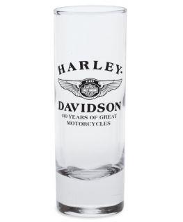 Harley Davidson 110th Anniversary Shot Glass Cordial Genuine Harley