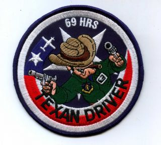 US Air Force T 6 Complete 69 Hours Pilot Training Friday Patch Texan