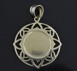 Michael Anthony 14k Gold Guardian Angel Medal Pendant