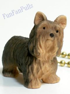 DOG YORKSHIRE TERRIER Yorkie Home Decor FAN Light PULL